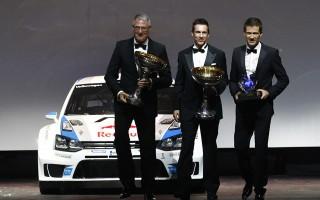 FIAガラでオジエがWRC戴冠
