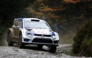 WRCグレートブリテン:初日首位はオジエ