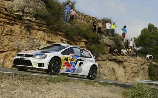 WRCスペイン:2日目、オジエはパンクで4位、ラトバラが首位に