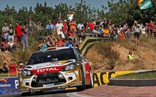 WRCスペイン:ソルドがシェイクダウンで首位