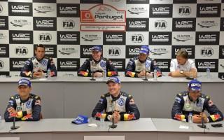 WRCポルトガル・ポスト会見「座る順番は気にしない!」