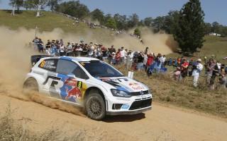 WRCオーストラリア3日目:オジエ独走、ミークが脱落