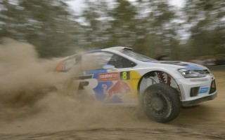 WRCオーストラリア2日目:オジエ、快走をみせて首位