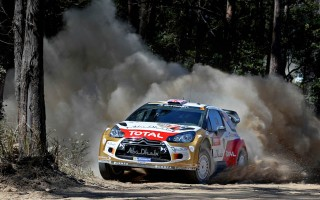 WRCオーストラリア予選:クリス・ミークがトップ