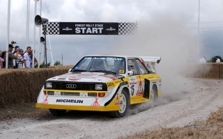 WRCオーストラリアにクラシックラリーカーが集結