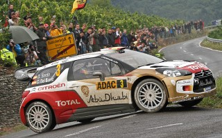 WRCドイツ:波乱の続くデイ3、首位はソルド