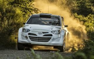 ヒュンダイi20 WRC、グラベルテストを実施