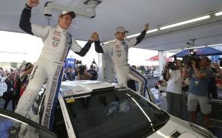 WRCフィンランド:オジエが逃げ切り今季5勝目!