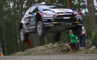 WRCフィンランド:デイ1はヌービルがトップ!