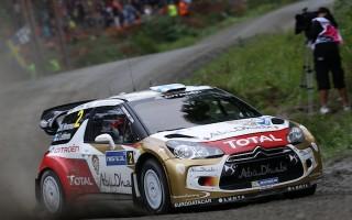 WRCフィンランド:予選はヒルボネンがトップ