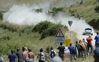 WRCサルディニア:デイ1はオジエが快走