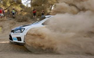 WRCアクロポリス:予選トップタイムはオジエ