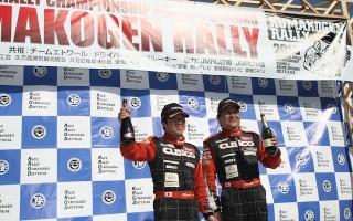 全日本ラリー:柳澤が久万高原で完全勝利!