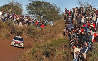 WRCアルゼンチン:運命のSS9、ローブが首位に浮上