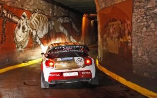 WRCメキシコ:SS2を終えオジエがトップ