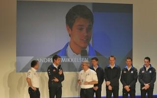 ミケルセンは「フォルクスワーゲン・モータースポーツII」から参戦