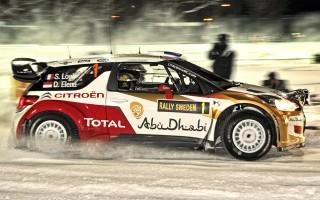 WRCスウェーデン:幕開けのSSSはローブ!