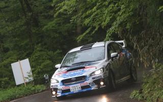 全日本ラリー久万高原:新型スバルWRX STIが1-2-3フィニッシュ!