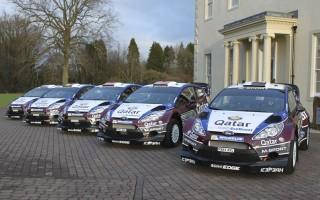 Mスポーツ陣、スウェーデンで5台が勢揃い