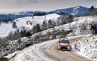 WRCモンテカルロ:ローブ、1分30秒差で首位を堅持