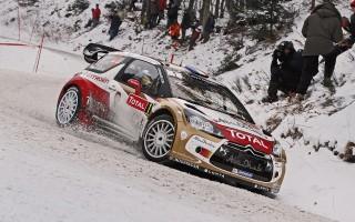 WRCモンテカルロ:ローブ貫録のデイ1トップ
