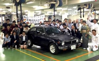 東京大学、海外ヒストリックラリーにホンダ学園とともにシビック1200RSで挑戦
