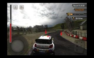 WRC公認iPhone用ゲーム「WRC: The Game」