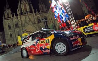 WRCスペイン:予選トップはローブ