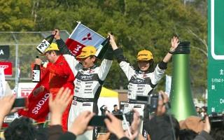 JRC新城:勝田範彦、3年連続チャンピオン獲得!
