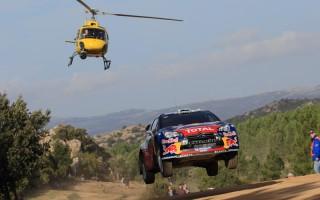 WRCイタリア:デイ3もヒルボネンが首位