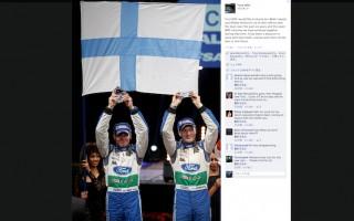 フォードWRC、Facebookでラトバラに感謝の意
