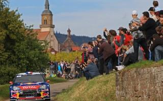 WRC第11戦フランス ラトバラの追撃をローブが一蹴