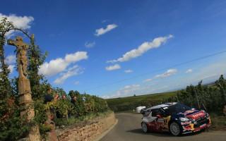 WRC第11戦フランス デイ1はローブ快走
