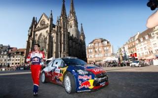 WRC第11戦フランス 日本時間のアイテナリー