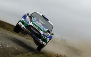 WRC第10戦GB フォードが1-2堅持