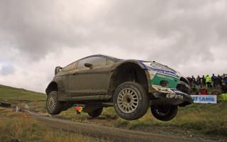 [WRC第10戦ラリーGBデイ1:フォード久々の1-2!