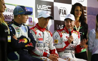 WRCアルゼンチン:デイ2コメント「2位につけた上に、その上にもチームメイト」