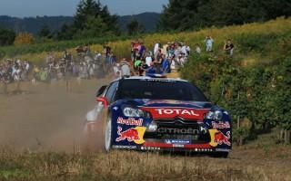 【WRC第9戦ドイツ】シェイクダウンはローブがトップ