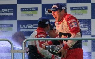 【WRC第8戦フィンランド】ローブ、フィンランド2連覇!