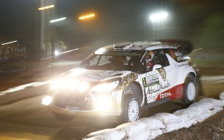 WRCアルゼンチン:初日のスーパーSSを終了