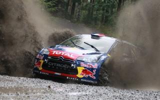 【WRC第8戦フィンランド】予選首位はローブ