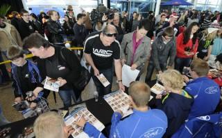 2012年WRC第7戦ニュージーランドのアイテナリー