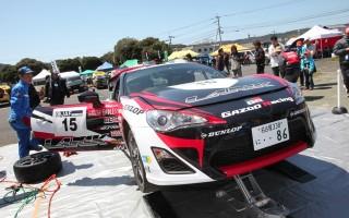 注目のトヨタ86はJN-3クラス4位を走行