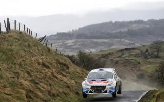 ERCアイルランド:ブリーンが初日トップ