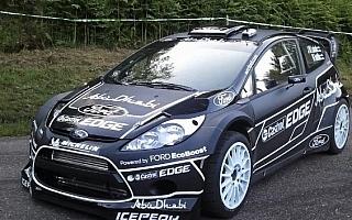 """""""ブラック""""のフィエスタRS WRCがフランスに……?"""