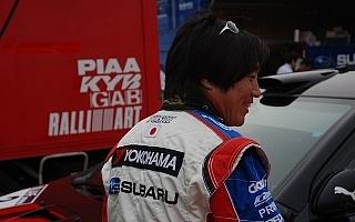 全日本ラリー第4戦福島、新井敏弘がデイ1トップ
