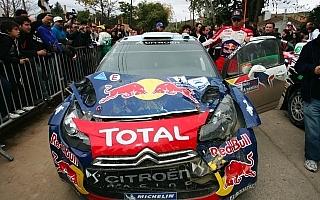 WRCアルゼンチン:オジエが転倒、ローブ今季3勝目