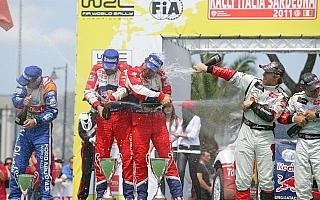 WRC第5戦サルディニア:先頭独走でローブ2勝目!