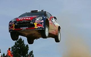 WRC第5戦サルディニア:ローブがデイ2もトップ
