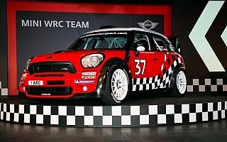 MINIジョン・クーパー・ワークスWRC、イギリスで発表!